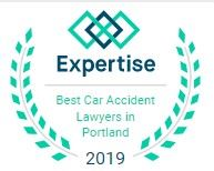 Expertise: Best Car Accident Lawyer in Portland 2019 badge